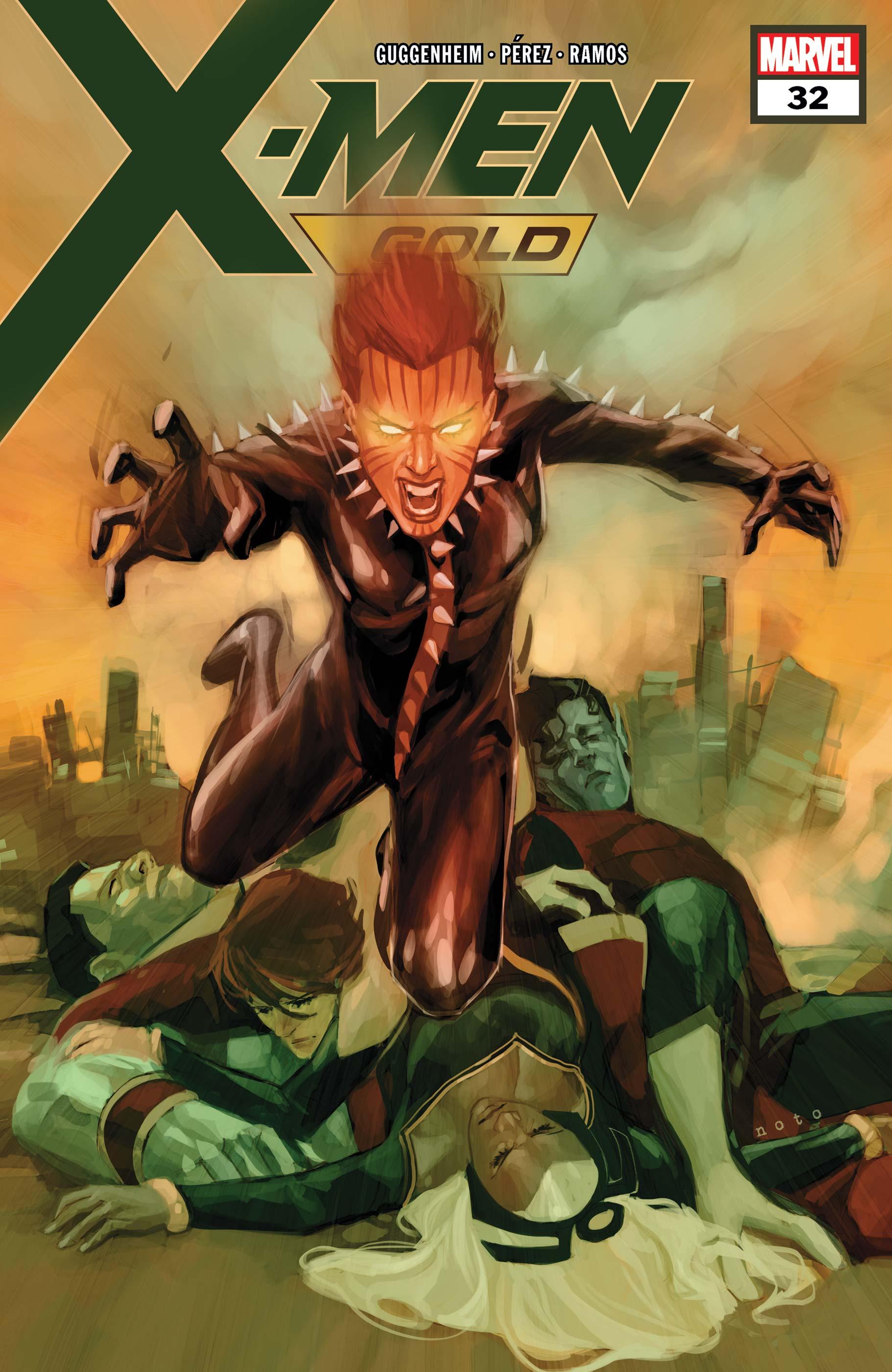 X-Men: Gold (2017) #32