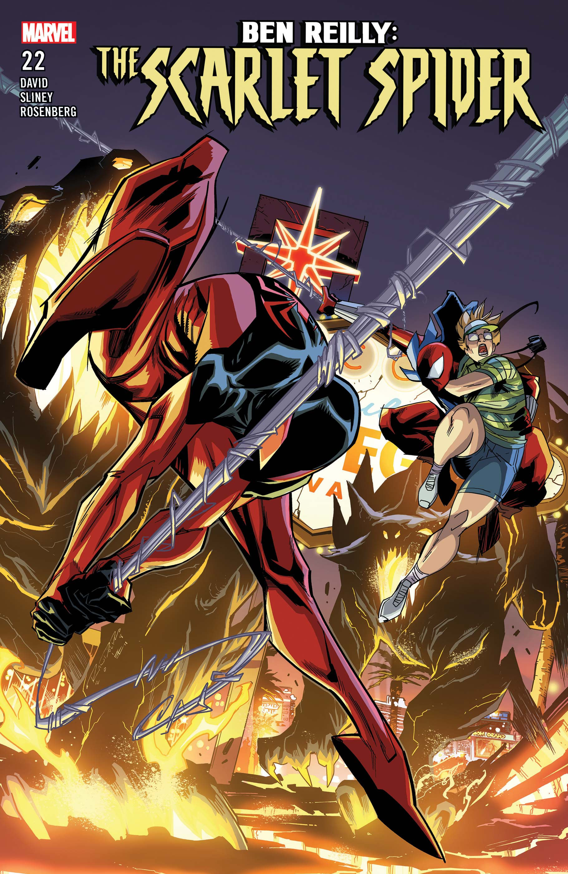 Ben Reilly: Scarlet Spider (2017) #22
