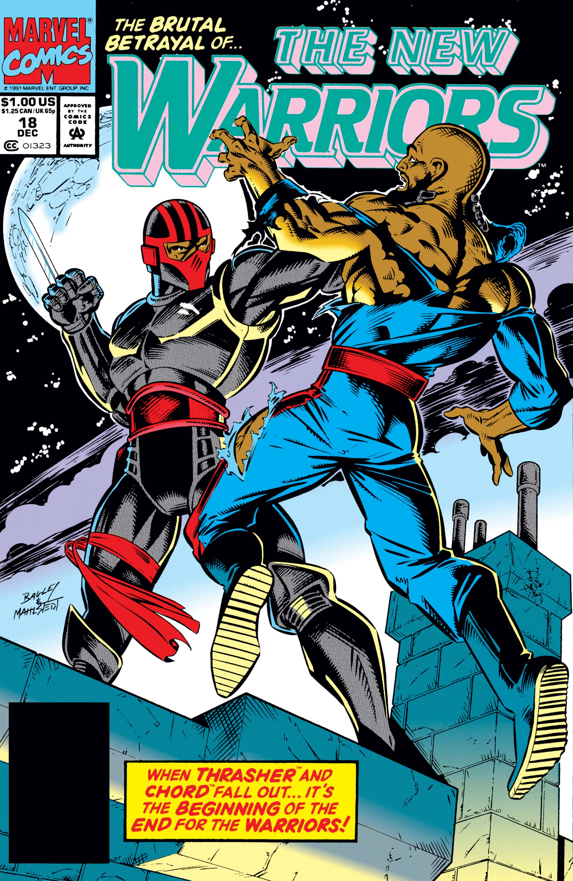 New Warriors (1990) #18