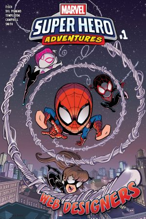 Marvel Super Hero Adventures: Spider-Man - Web Designers (2019) #1