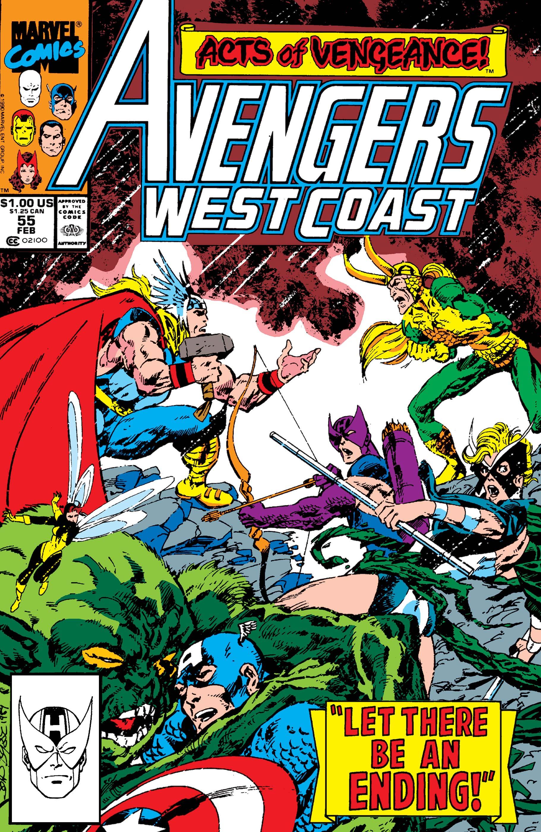 West Coast Avengers (1985) #55