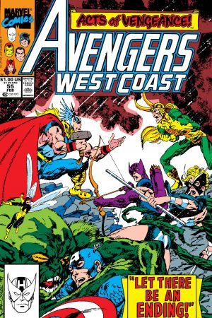 West Coast Avengers #55