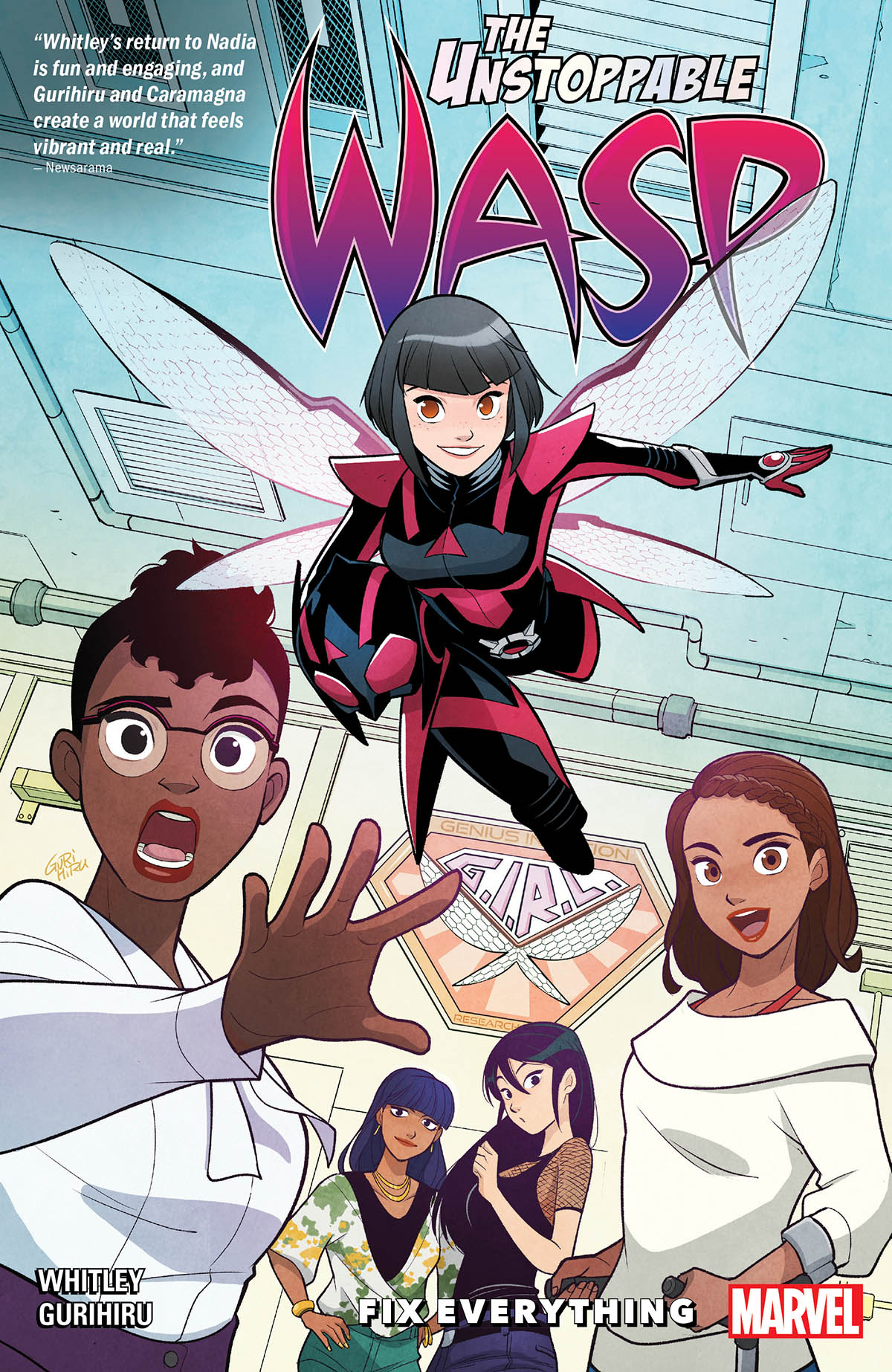 The Unstoppable Wasp: Unlimited Vol. 1: Fix Everything (Trade Paperback)