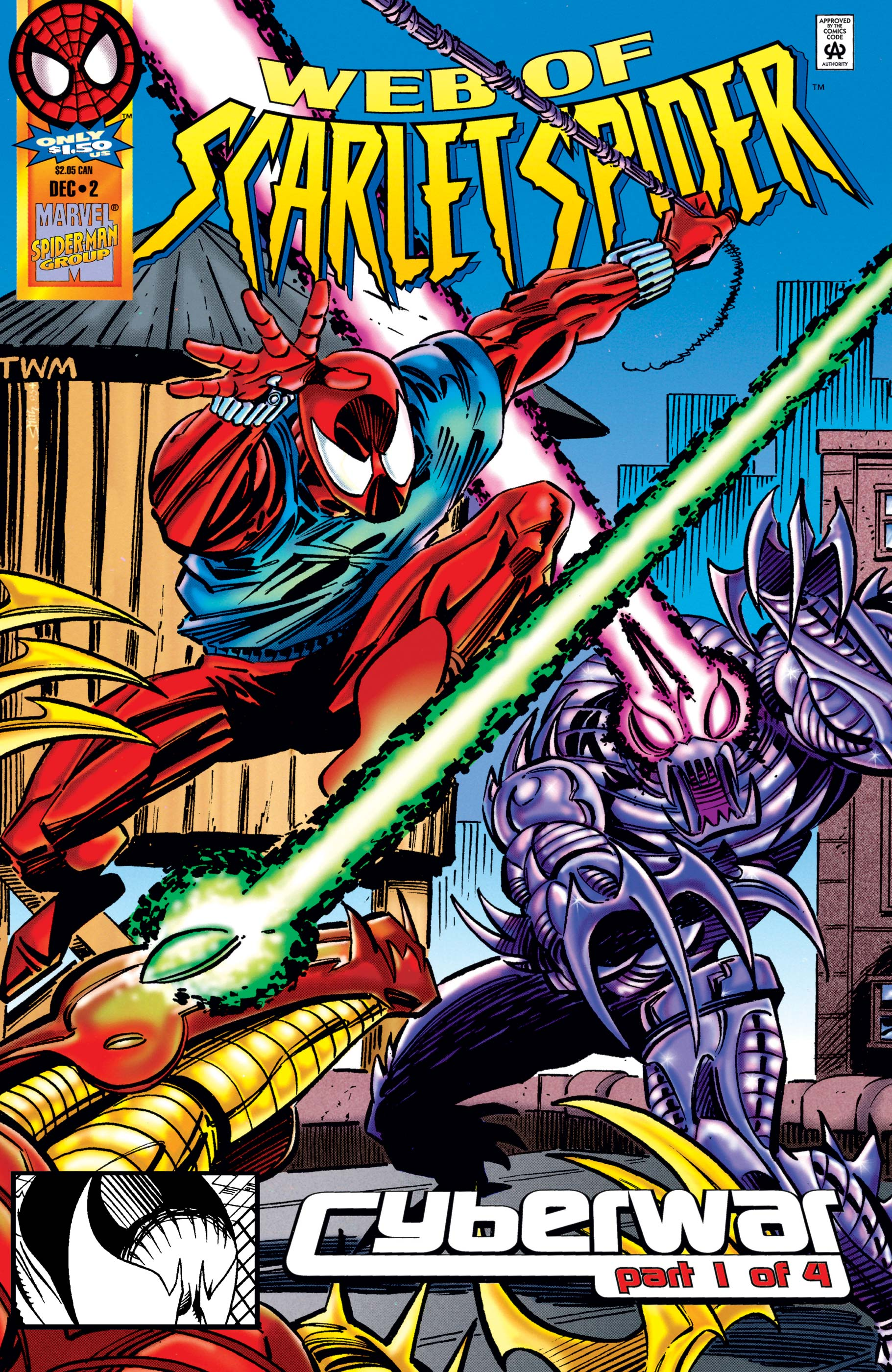 Web of Scarlet Spider (1995) #2