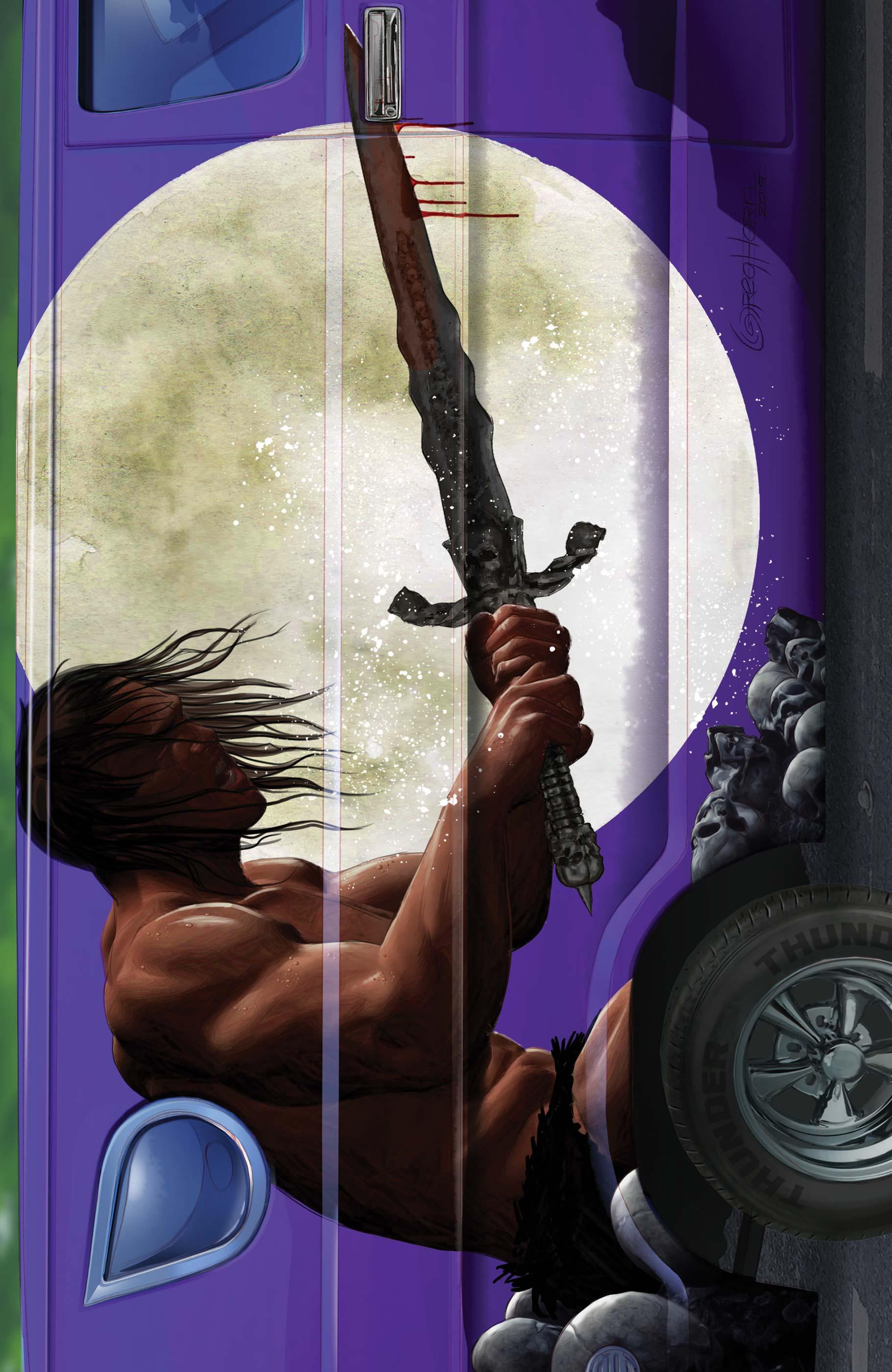 Conan The Barbarian: Exodus (2019) #1 (Variant)