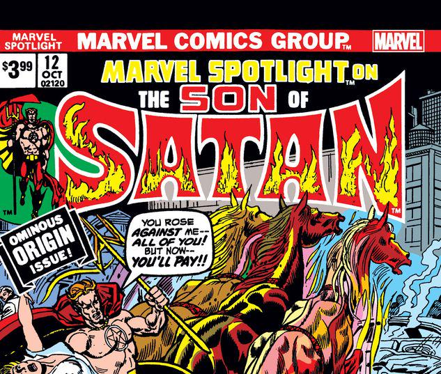 SON OF SATAN: MARVEL SPOTLIGHT 12 FACSIMILE EDITION #12
