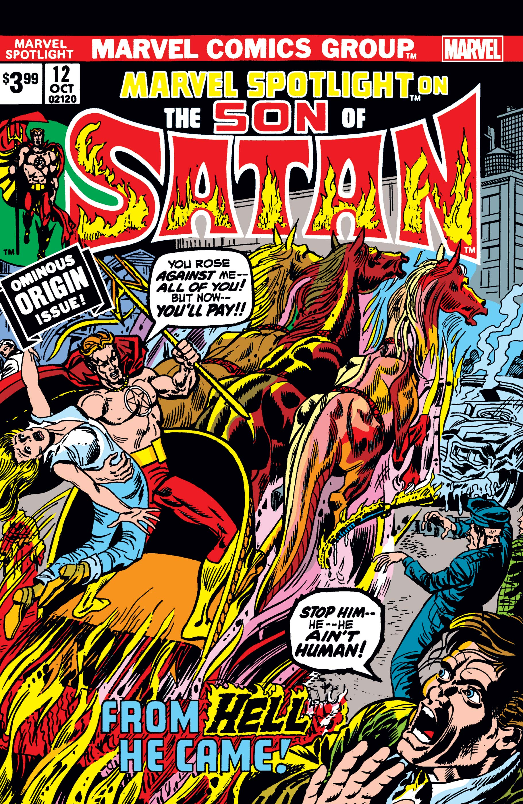 Son Of Satan: Marvel Spotlight Facsimile Edition (2019) #12