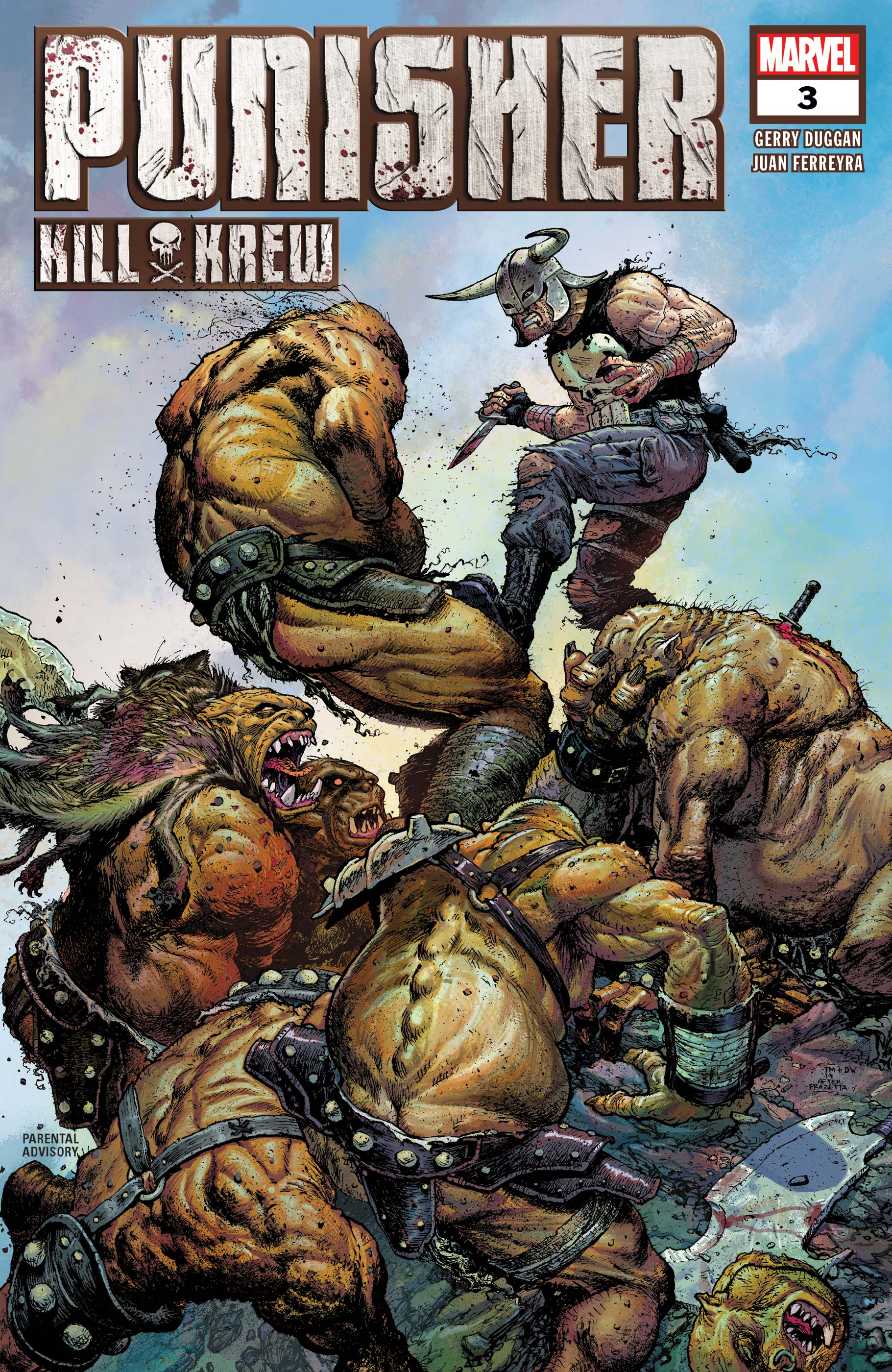 Punisher Kill Krew (2019) #3