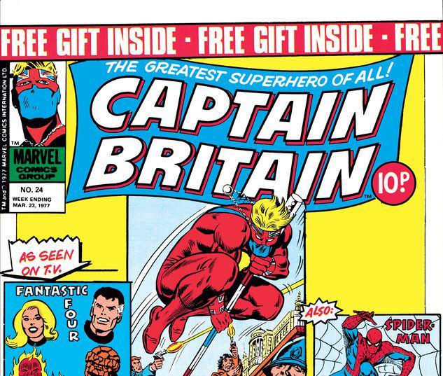 Captain Britain #24
