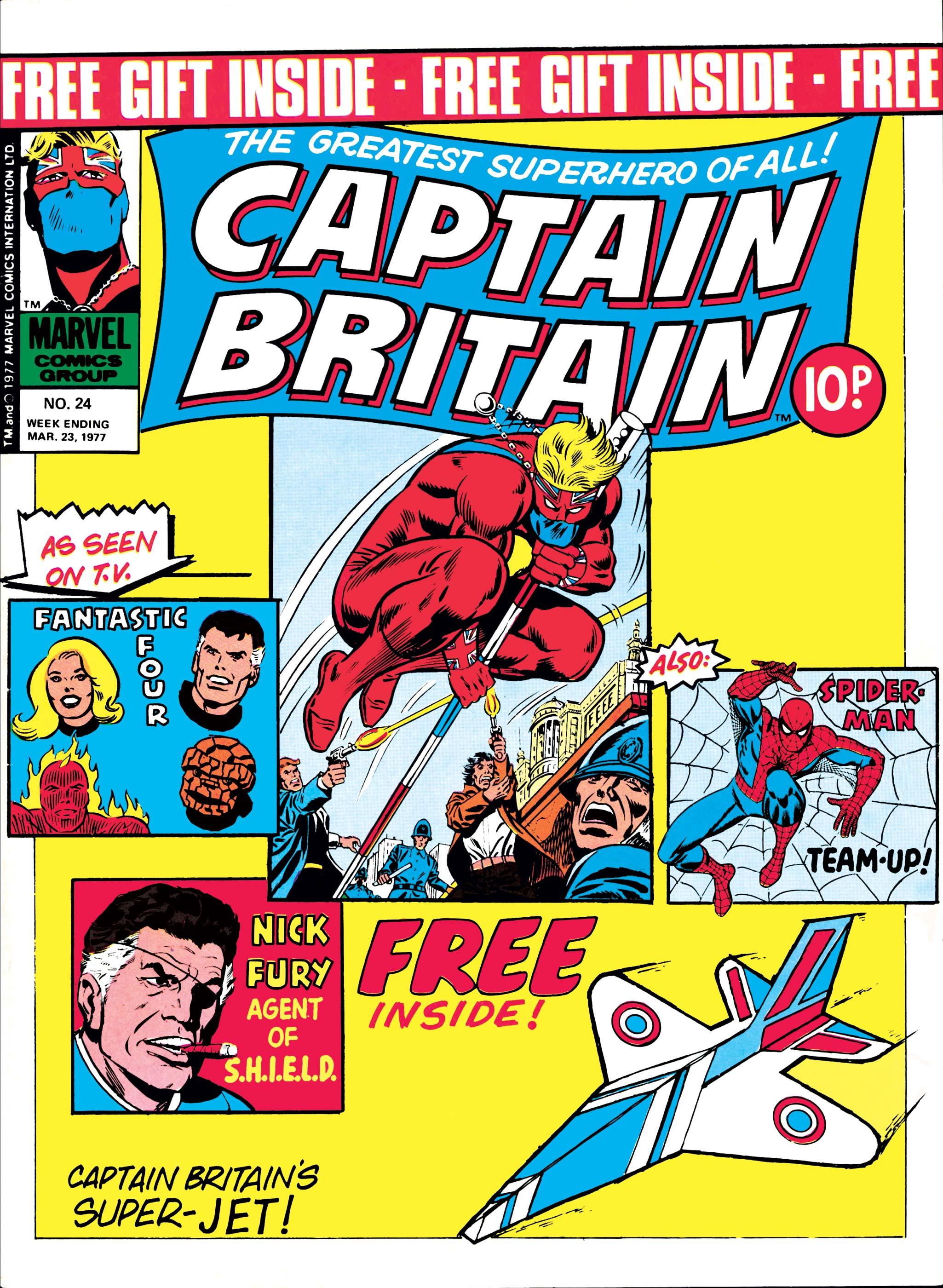 Captain Britain (1976) #24