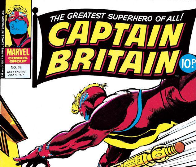 Captain Britain #39