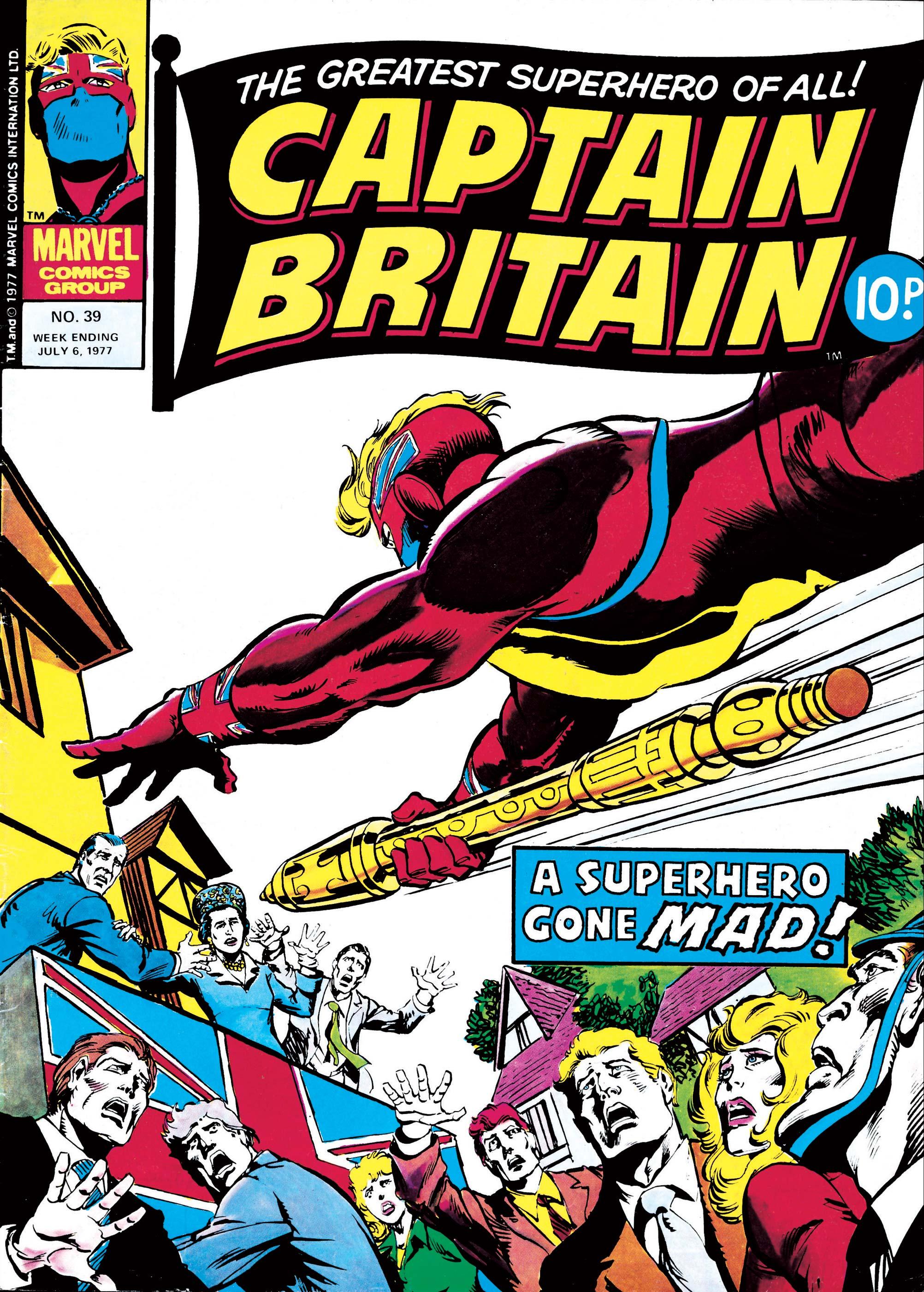 Captain Britain (1976) #39