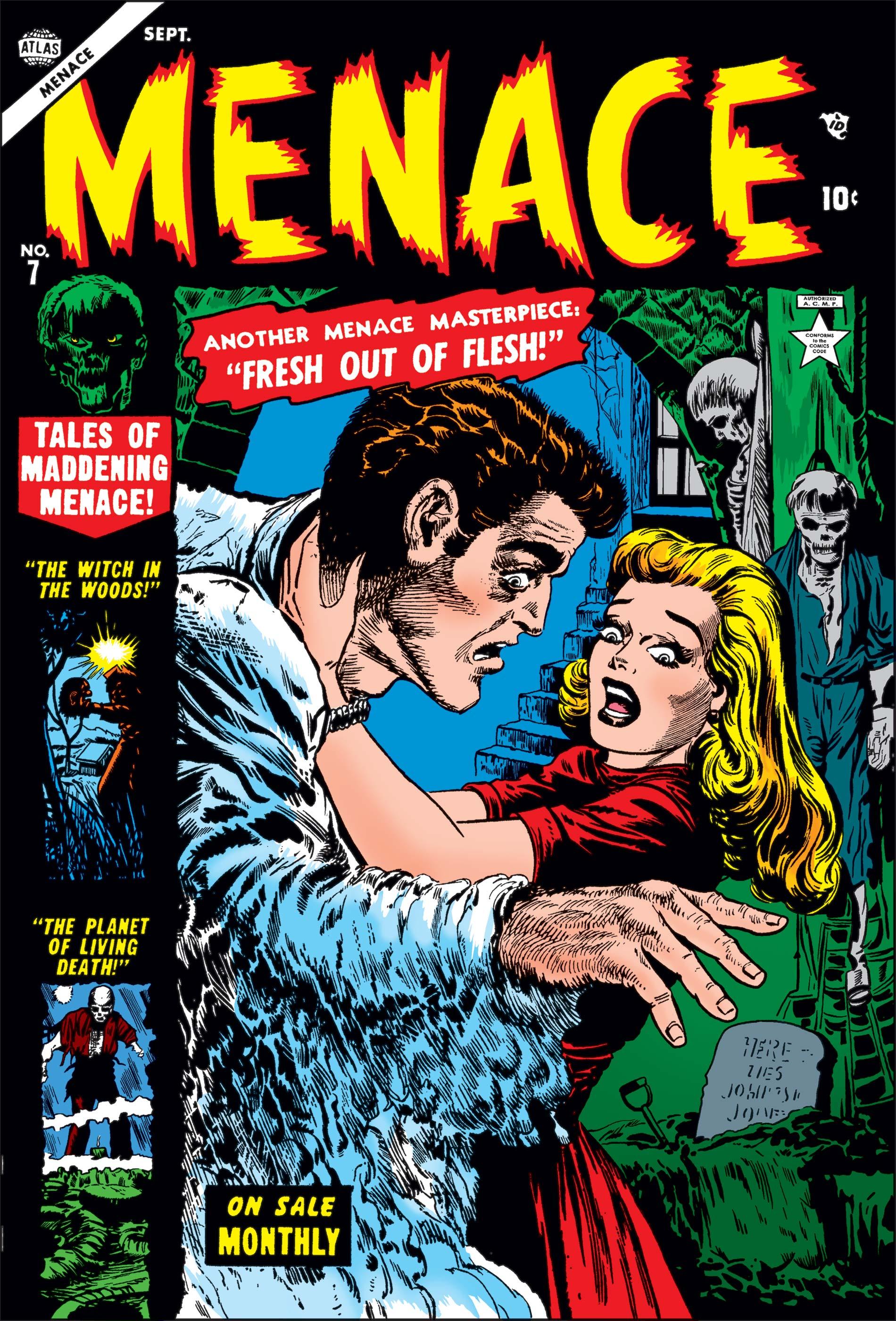 Menace (1953) #7