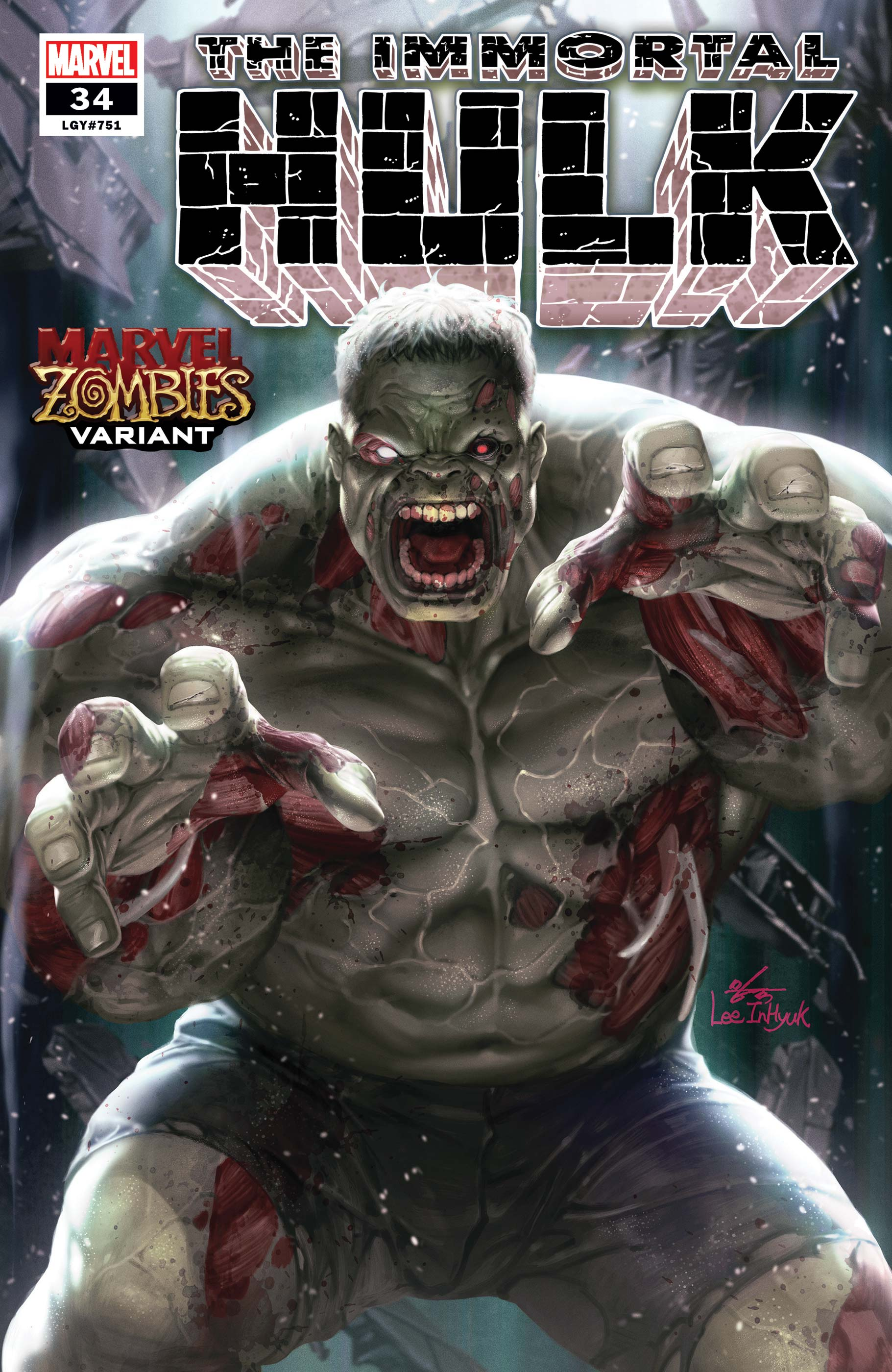 Immortal Hulk (2018) #34 (Variant)