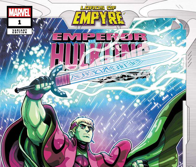 LORDS OF EMPYRE: EMPEROR HULKLING 1 VECCHIO VARIANT #1