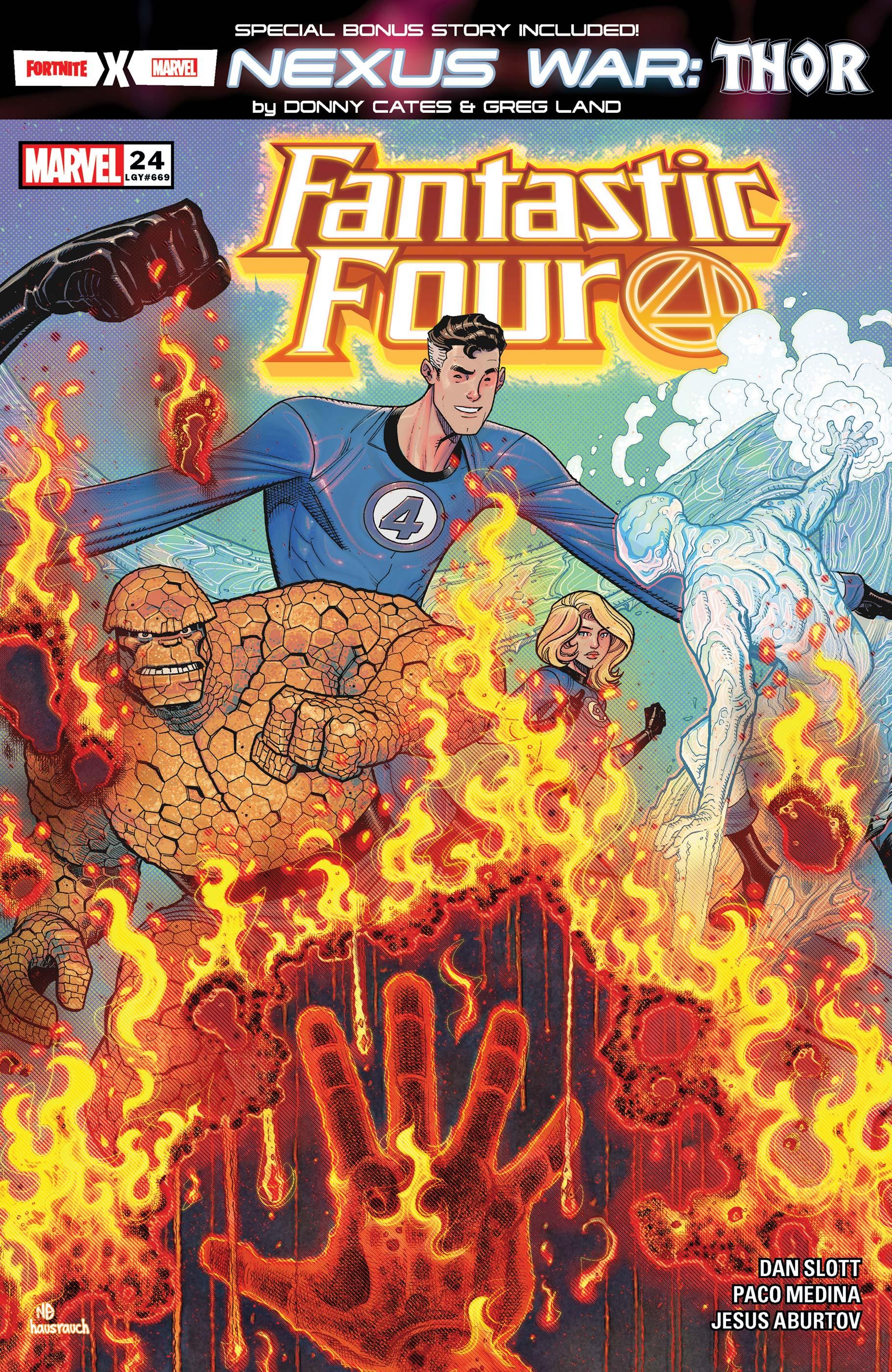 Fantastic Four (2018) #24