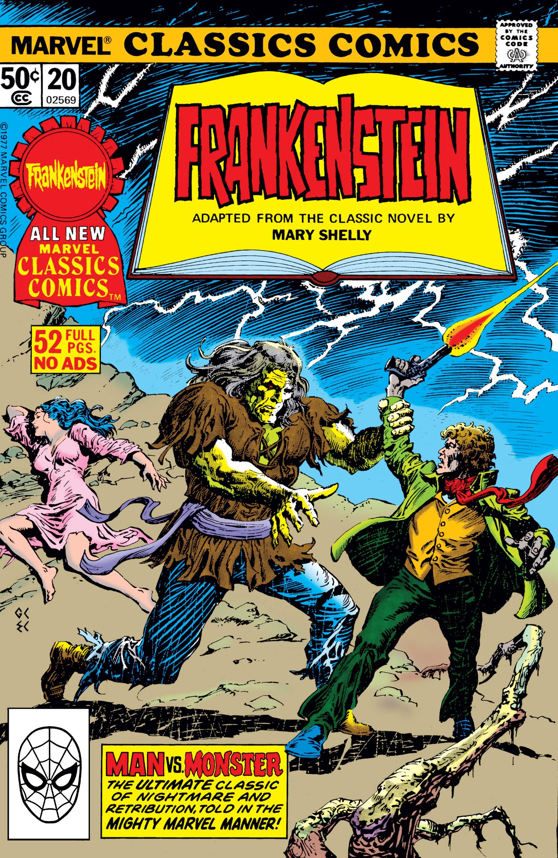 Marvel Classics Comics Series Featuring (1976) #20