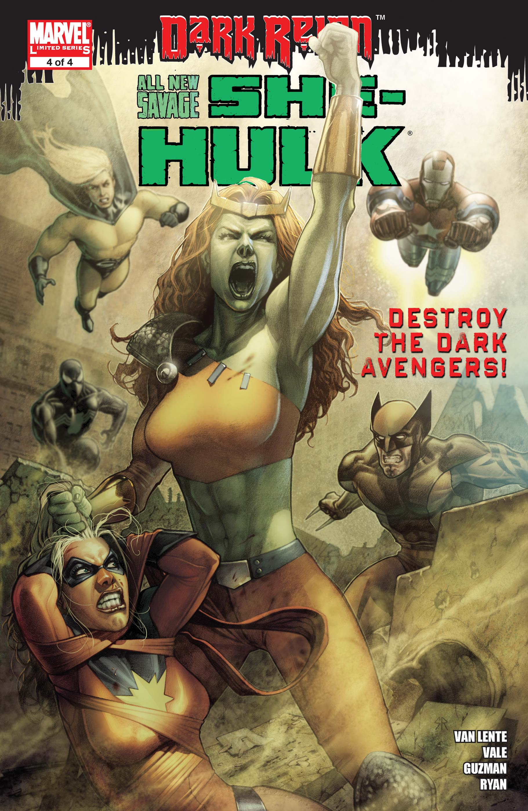 All-New Savage She-Hulk (2009) #4
