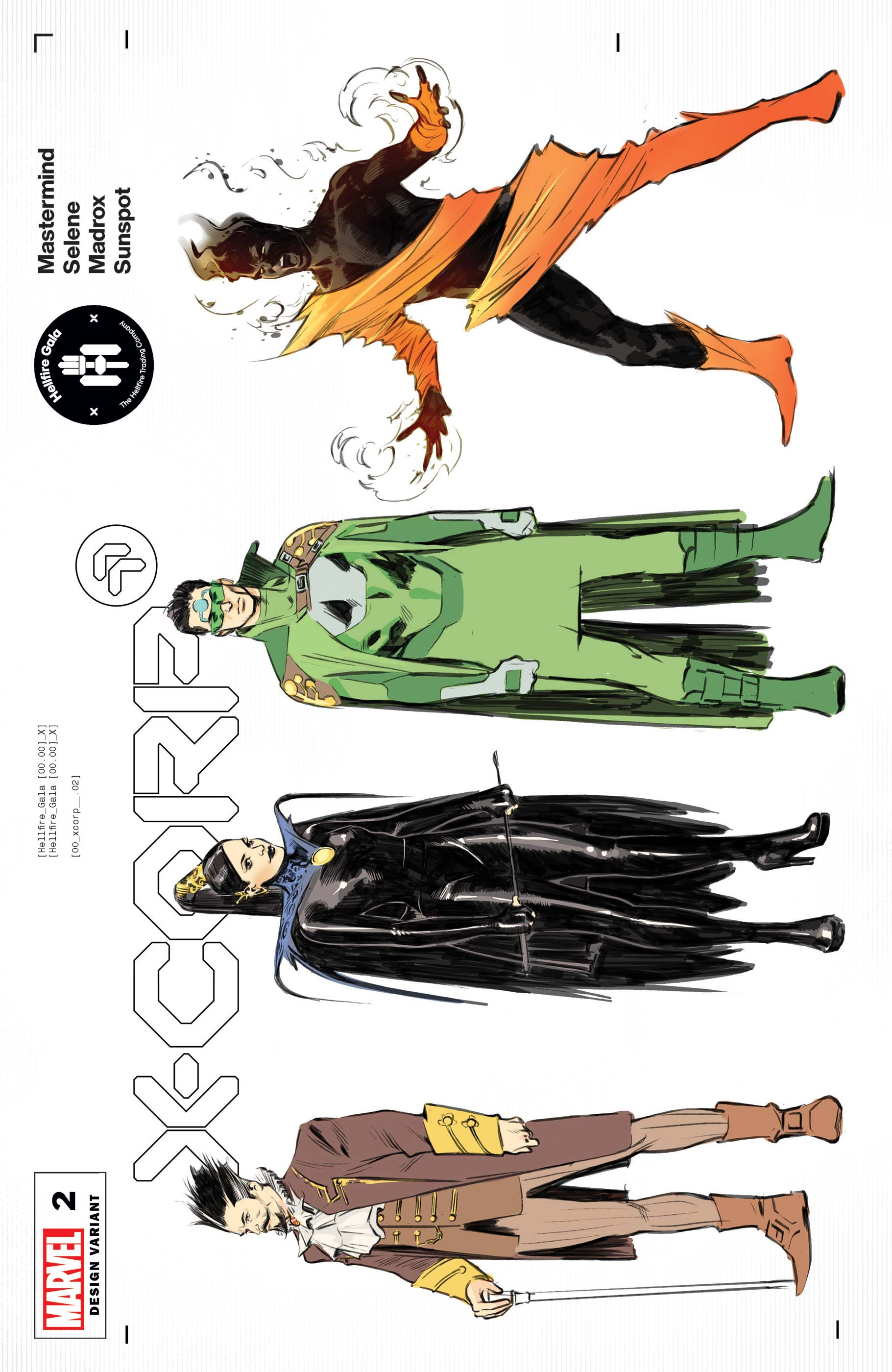 X-Corp (2021) #2 (Variant)