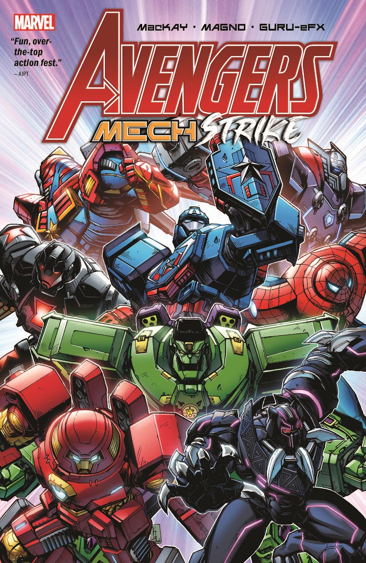 Avengers Mech Strike (Trade Paperback)