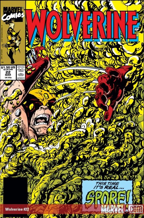 Wolverine (1988) #22