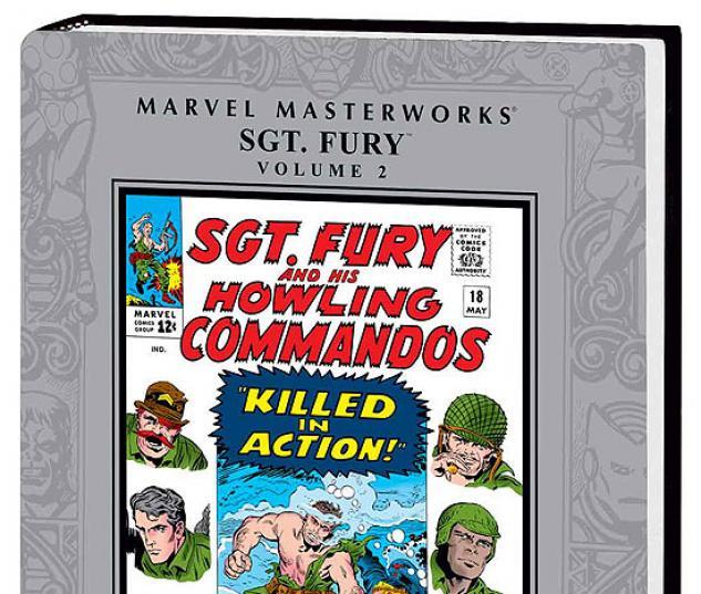 MARVEL MASTERWORKS: SGT. FURY VOL. 2 #0
