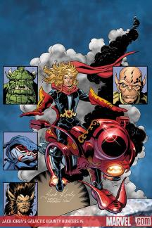 Jack Kirby's Galactic Bounty Hunters #6