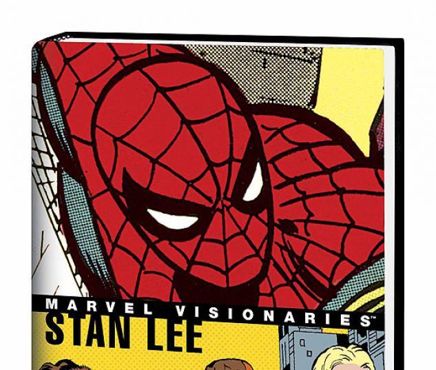 MARVEL VISIONARIES: STAN LEE COVER
