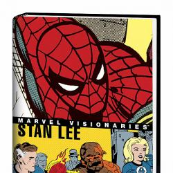 MARVEL VISIONARIES: STAN LEE COVER