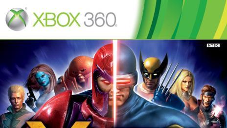 X-Men Destiny- XBox Box Art