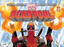 Deadpool #3 Variant