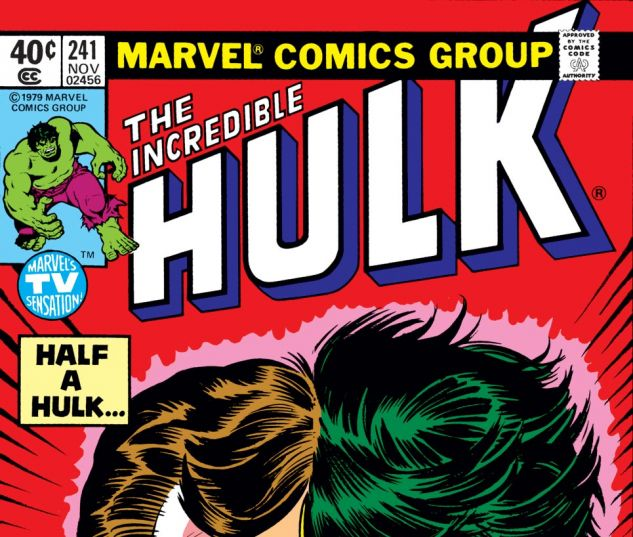 Incredible Hulk (1962) #241 Cover