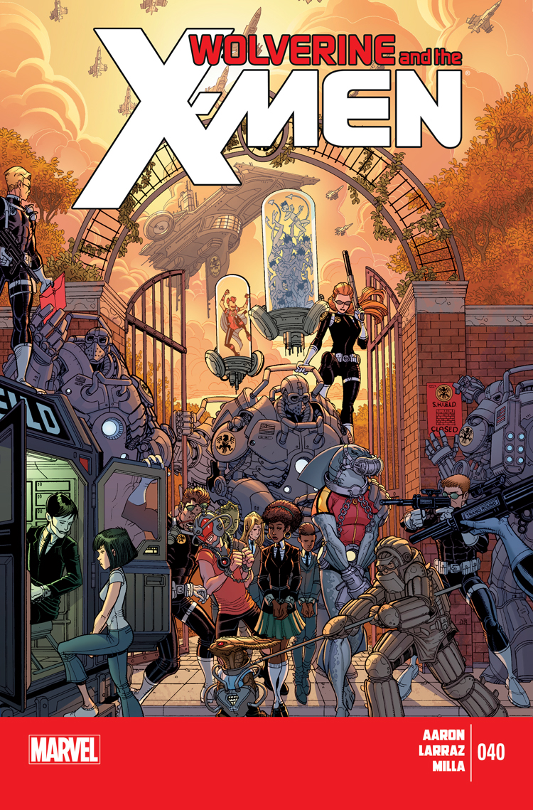 Wolverine & the X-Men (2011) #40