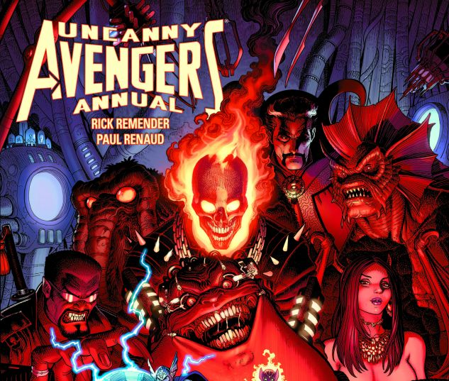UNCANNY AVENGERS ANNUAL 1 (ANMN, WITH DIGITAL CODE)