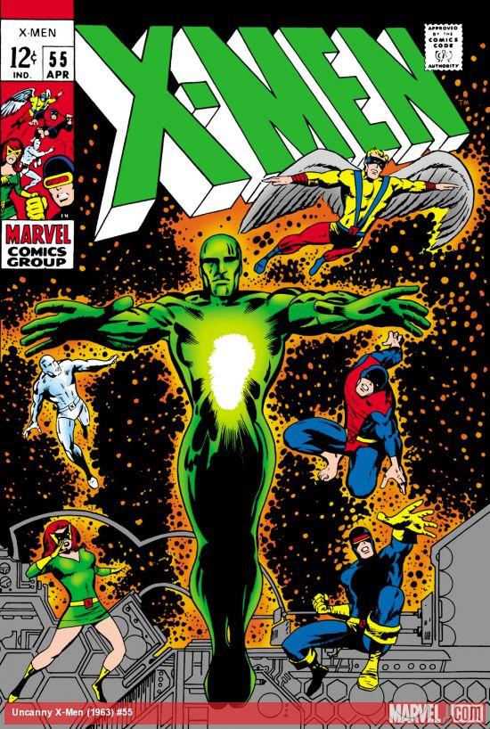 Uncanny X-Men (1963) #55