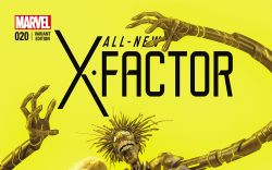ALL-NEW X-FACTOR 20 GARNER FINAL ISSUE VARIANT (WITH DIGITAL CODE)