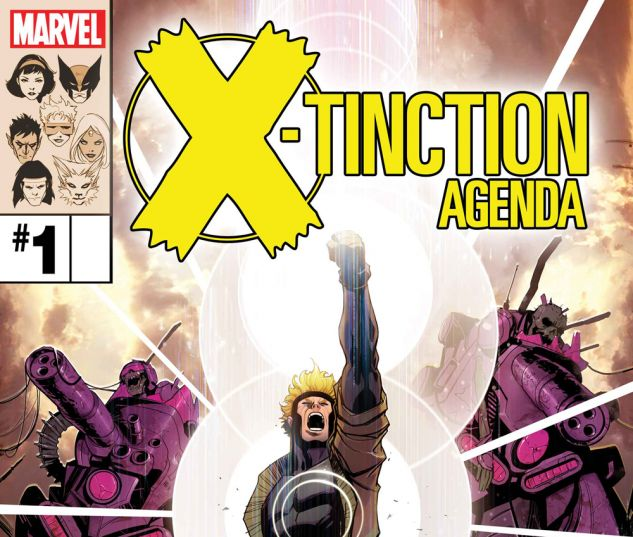 X-Tinction Agenda #1 cover by David Nakayama