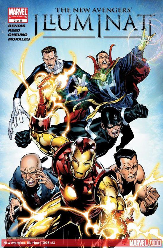New Avengers: Illuminati (2006) #3