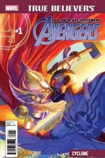 True Believers: All-New, All-Different Avengers - Cyclone #1