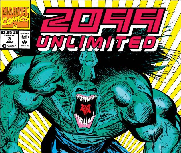 2099 Unlimited (1993) #3