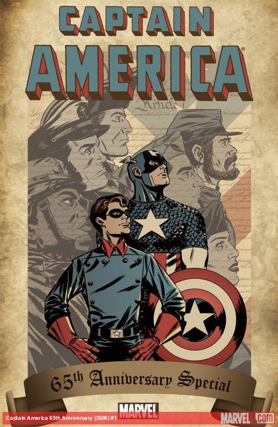 Captain America 65th Anniversary (2006) #1