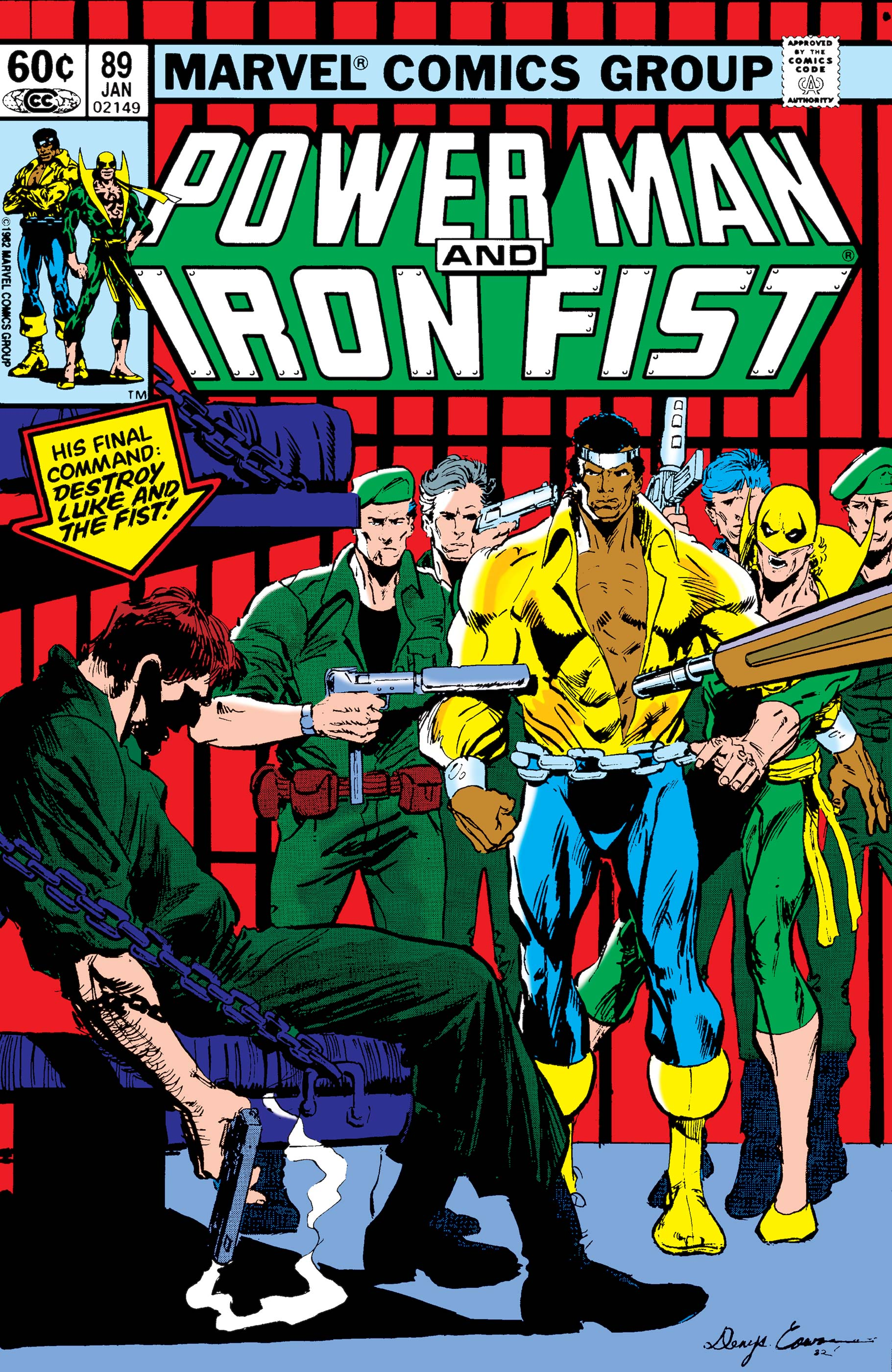 Power Man and Iron Fist (1978) #89