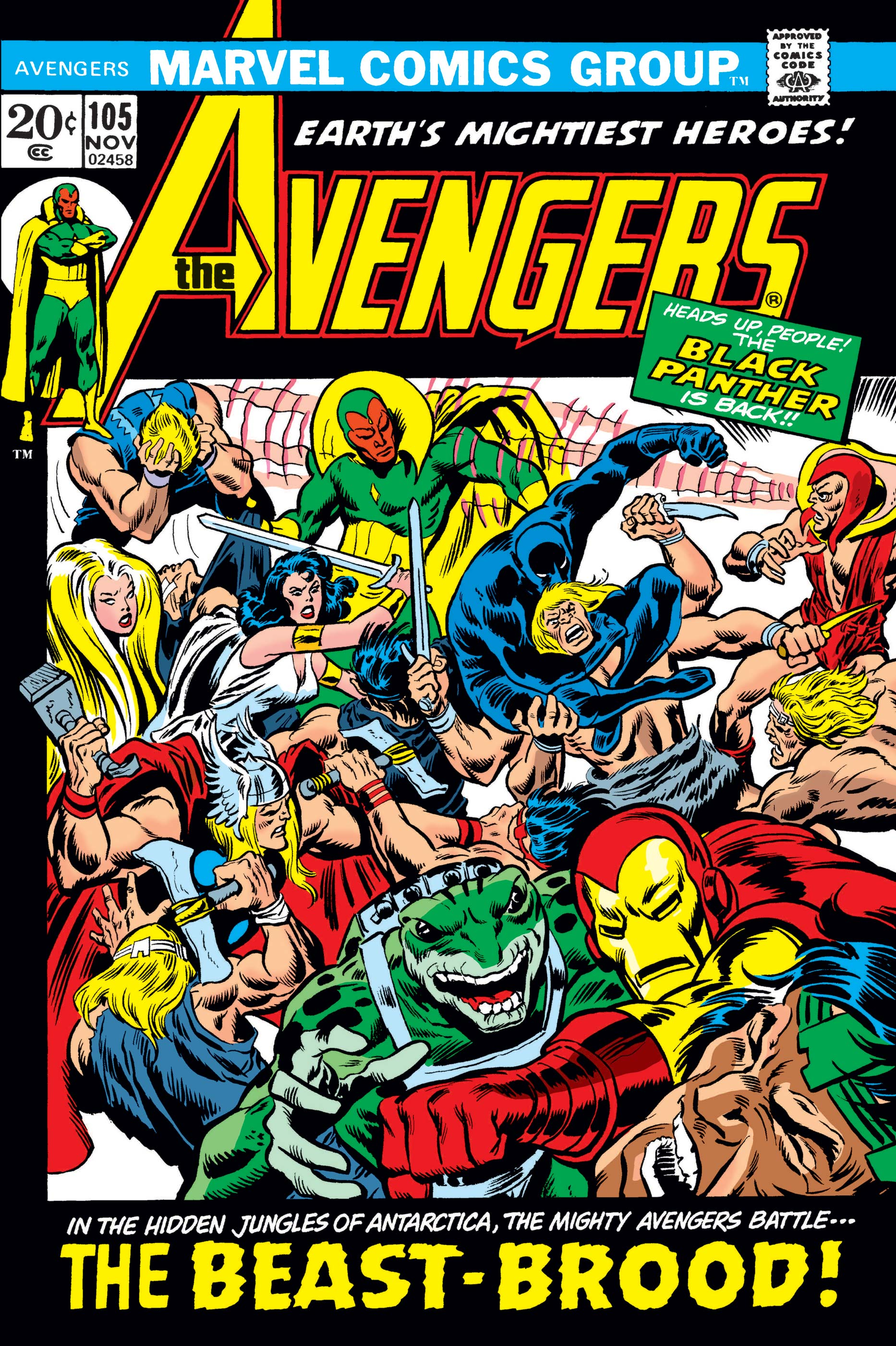 Avengers (1963) #105