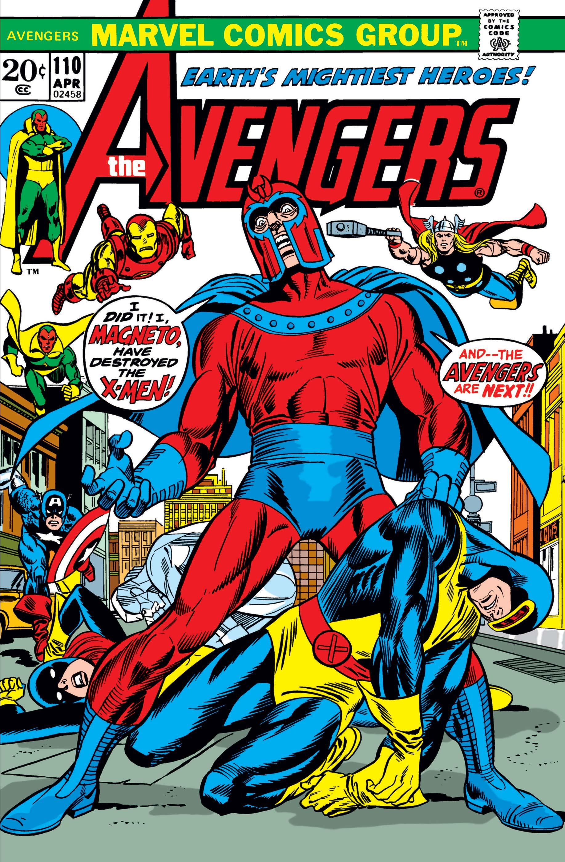 Avengers (1963) #110