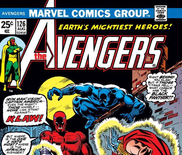 AVENGERS (1963) #126