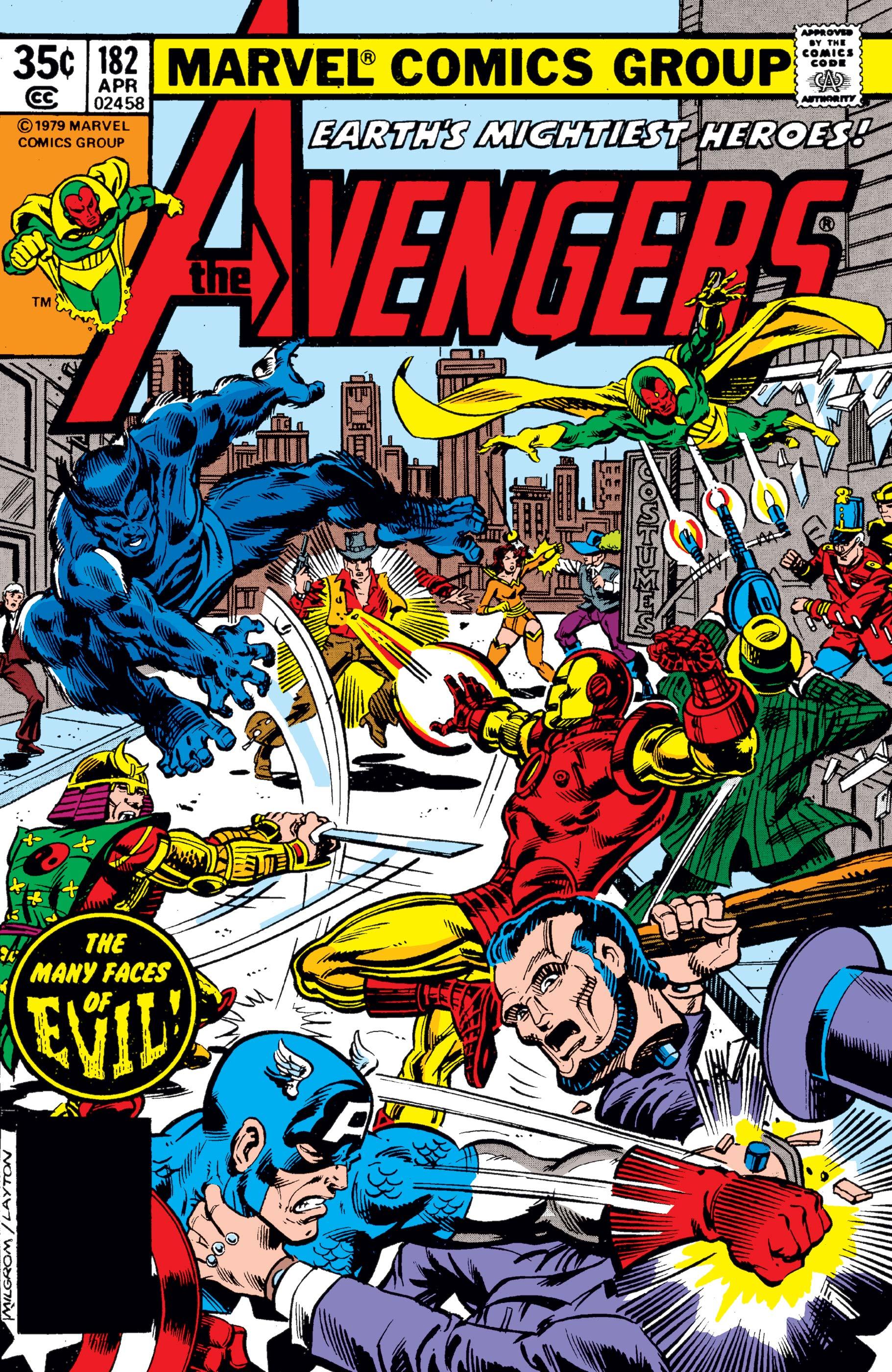 Avengers (1963) #182