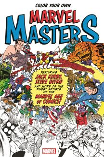 Color Your Own Marvel Masters (Trade Paperback)