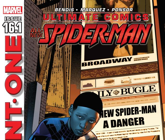 cover from Ultimate Comics Spider-Man #16.1