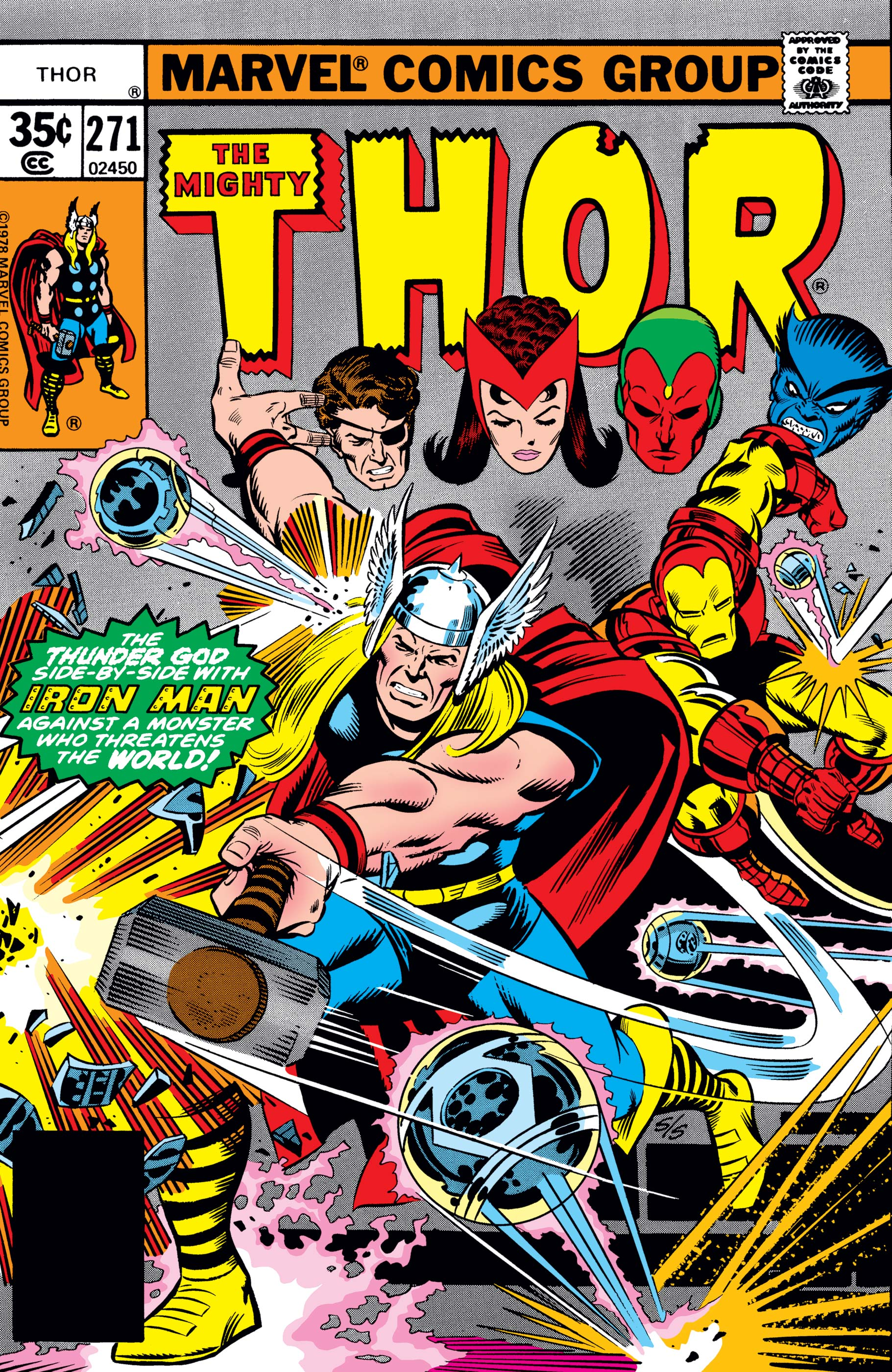 Thor (1966) #271