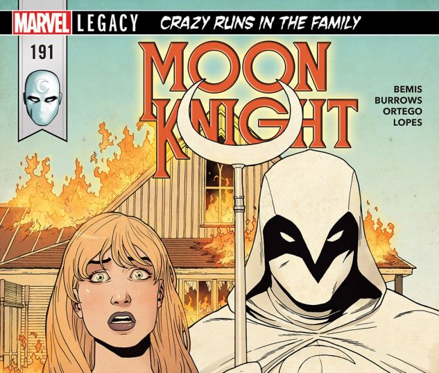 cover from Moon Knight (2017) #191